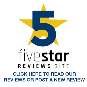 Five Star Reviews Badge